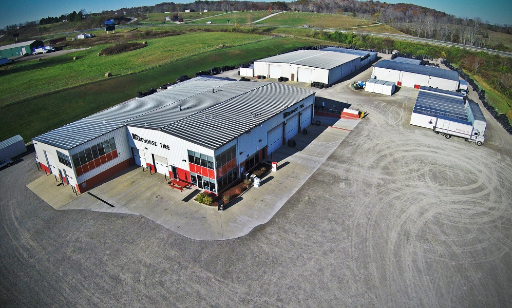 "alt=""aerial photo of Warehouse Tire"""